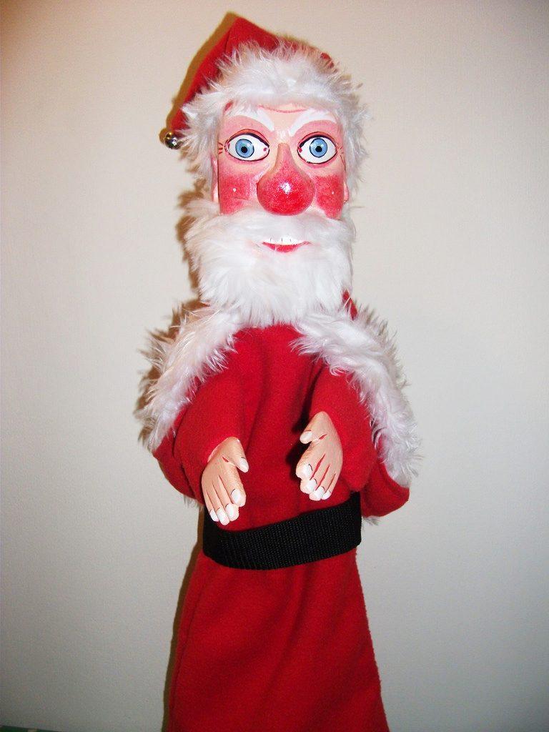 punch judy puppet bryan clarke santa father christmas Santa 1